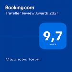 award BOOKING.COM 2021